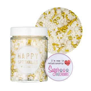 Happy Sprinkles Vegan Golden Dust 90g