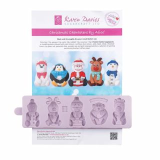Karen Davies Silicone Mould Christmas Characters
