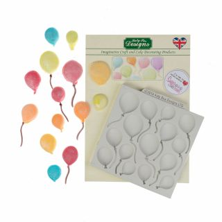 Katy Sue Silicone Mould BALLOONS