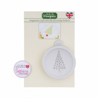 Katy Sue Silicone Mould CHRISTMAS TREE