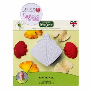 Katy Sue Flower Pro Silicone Mould Fan Veiner.a