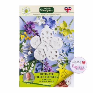 Katy Sue Flower Pro Silicone Mould Ultimate Filler Flowers