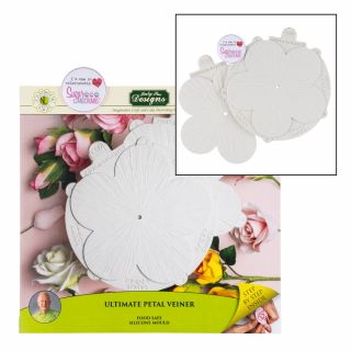 Katy Sue Flower Pro Silicone Mould Ultimate Petal Veiner.a