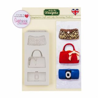 Katy Sue Silicone Mould DESIGNER BAGS.a