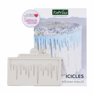 Katy Sue Silicone Mould Icicles