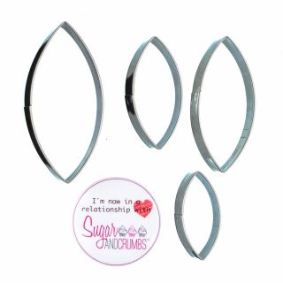 Lily Petal Cutters Set of 4
