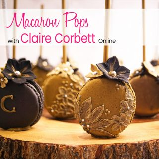 Macaron Pops with Claire Corbett Online 30th September 2020