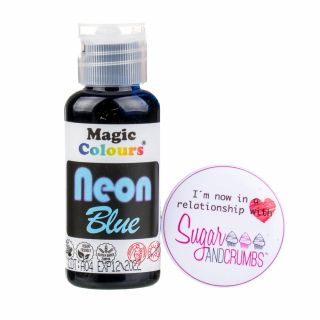 Magic Colours Gel NEON BLUE 32g