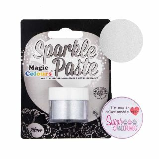 Magic Colours Sparkle Paste SILVER 8g