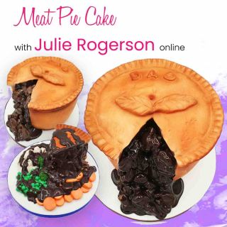 Meat Pie Cake with Julie Rogerson Online