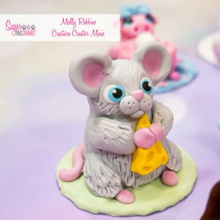 Molly Robbins Creature Creator Babies Standing Mould