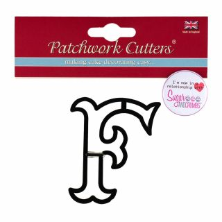 Patchwork Cutters Large Letter F