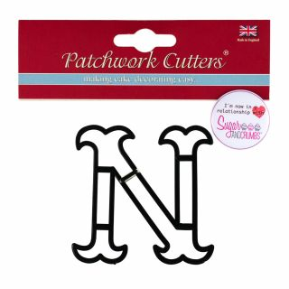 Patchwork Cutters Large Letter N