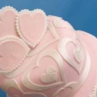 Patchwork Cutters Swirls and Hearts