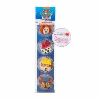 PAW Patrol Handmade Sugar Decorations