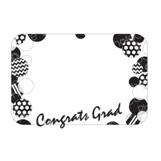 PhotoCake A4 Personalised Congrats Grad Dots