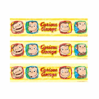 PhotoCake Strips CURIOUS GEORGE