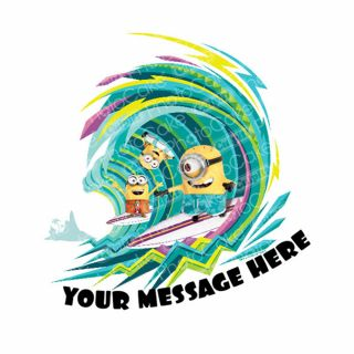 PhotoCake Personalised Image Despicable Me - Hang Ten