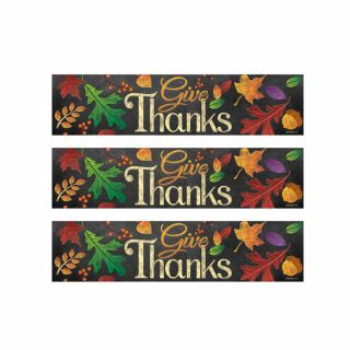 PhotoCake Strips GIVE THANKS CHALKBOARD