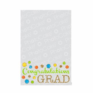 PhotoCake A4 Personalised Grad Confetti