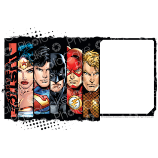PhotoCake A4 Image Justice League - One of the Team