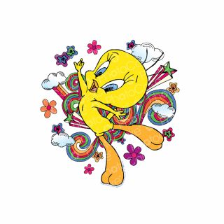PhotoCake Round LOONEY TUNES TWEETY