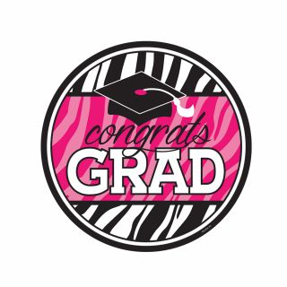 PhotoCake Round ANIMAL PRINT GRAD