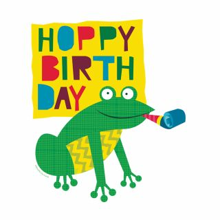 PhotoCake A4 Birthday Buddies Frog