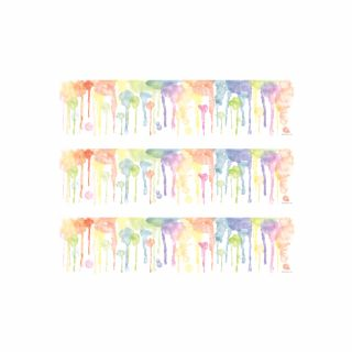 PhotoCake Strips BRIGHT WATERCOLOUR