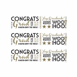 PhotoCake Strips CLASSIC CONTEMPORARY CONGRATS