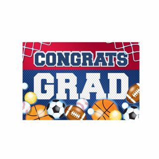 PhotoCake A4 Congrats Grad Sports