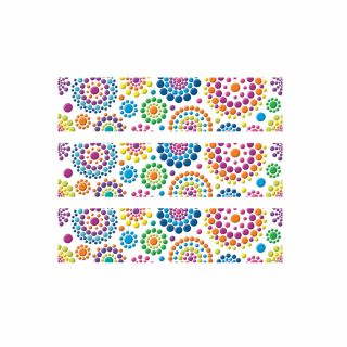 PhotoCake Strips FESTIVE DOT BURSTS