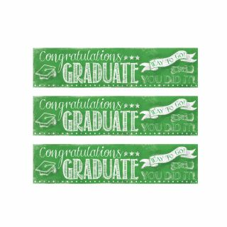 PhotoCake Strips GREEN CHALKBOARD