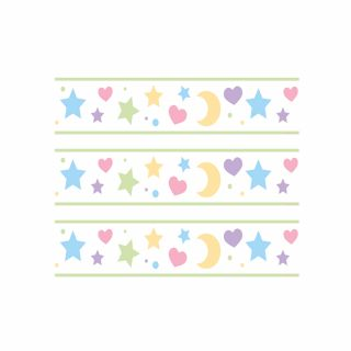 PhotoCake Strips MOONS, STARS AND HEARTS