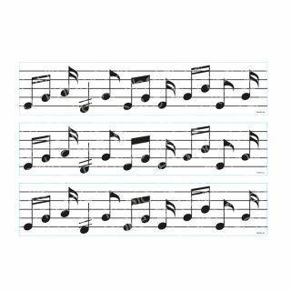 PhotoCake Strips MUSICAL NOTES
