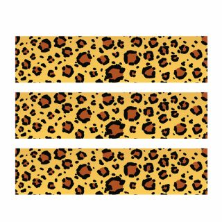 PhotoCake Strips SAFARI PRINT LEOPARD