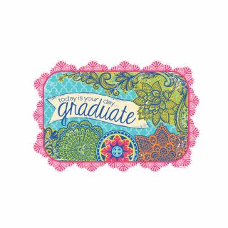 PhotoCake A4 Today Is Your Day Graduate