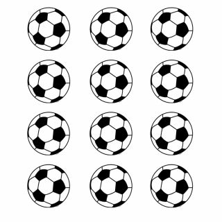 PhotoCake Round FOOTBALL