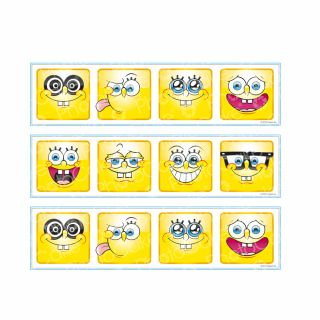 PhotoCake Strips SPONGEBOB MANY FACES