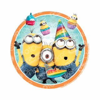 PhotoCake Round DESPICABLE ME