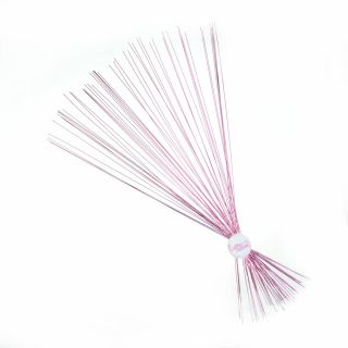 Culpitt Floral Wire METALLIC PALE PINK 24 GAUGE Pack of 50