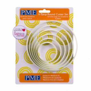 PME Cutter 6 Pieces ROUND
