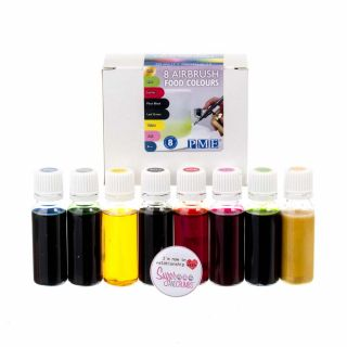 PME Airbrush 8 Food Colours