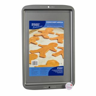 PME Bakeware Non Stick Cookie Sheet Medium 15 x 10 x 0.7inch