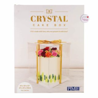 PME Crystal Cake Box 10 Inch
