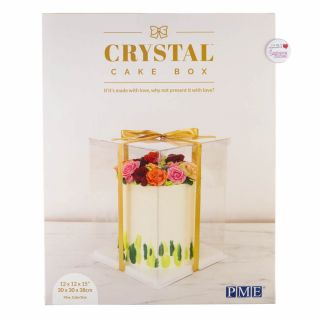 PME Crystal Cake Box 12 Inch