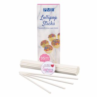 PME Lollipop Sticks Paper 6.3 inches Pack of 35