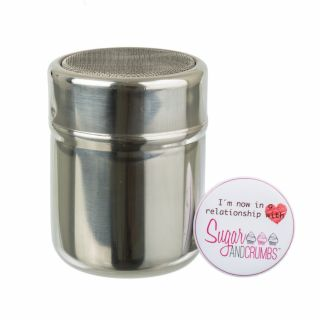 PME Stainless Steel Shaker with Cover 80mm