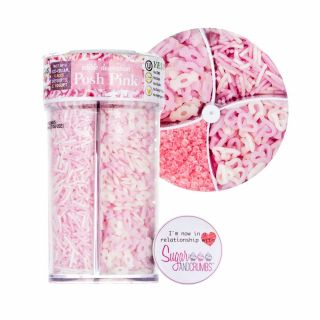 Quality Sprinkles POSH PINK Tub 125g