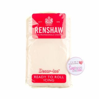 Renshaw Sugarpaste Ready to Roll CELEBRATION IVORY 500g